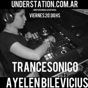 Live DJ Set  Podcast Trancesonico 058-25-3-2016-Mixed Ayelen Bilevicius