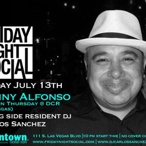 Lenny Alfonso Live @ Friday Night Social 7-13-12