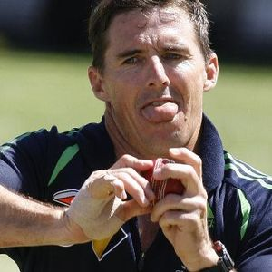 Brad Hogg - Perth Scorchers & Australian T20 player (28 Jan 2012)