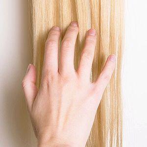 blonde extension mix