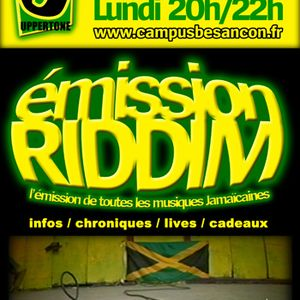 Emission RIDDIM 10 septembre 2012
