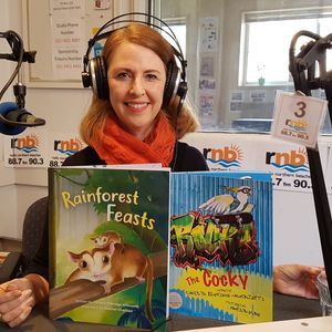By the Book Episode 56 Children's Author and Writer of Rhyming Verse, Carolyn Eldridge-Alfonzetti