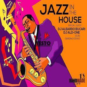 HAND MADE CAFE'_ JAZZ IN THE HOUSE_ DJ ALD_ONE & ALEARDO BUCARI