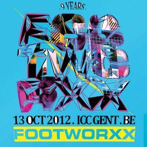 Ruru Vs Osterberger @ FOOTWORXX 9 YEARS 2012