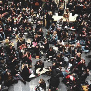 Maagdenhuis bezet - 27 februari 2015