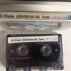 K7/Cassette from Bar TopTien [be] from 12/09/1998 Mixed by Dj Klaas/Jeks