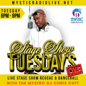 DJ CHRIS CUTT  STAGE SHOW TUESDAYS MAR,8,2016