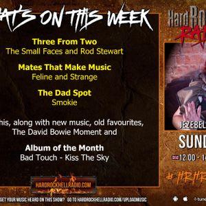Hard Rock Hell Radio - Jezebel's Lounge - Sunday 05th July 2020