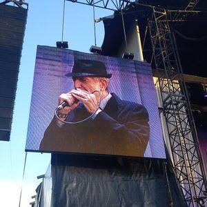 Leonard Cohen Olympic Stadium Amsterdam 22Aug2012 Part 2