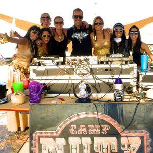 DJ Kramer - Live Sunrise Set @ NUTZ Camp - Burning Man 2013