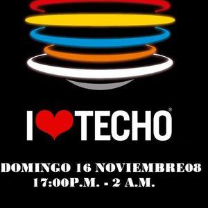 I Love Techo Vol.II@MarioMendozadj