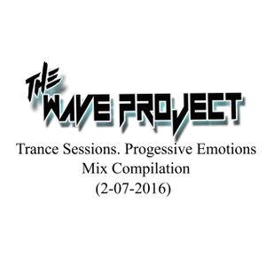 The Wave Project - Trance Sessions Progressive Emotions (2-7-2016)