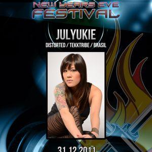 31.12.2011 - Julyukie @ Fuel Technop PT - NYE Festival - Stressless - Portugal