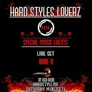 Rave-D - Hard Style Loverz - Hardstyle.nu Saturday - 14.00 - 15.00 - 11 February 2012