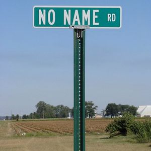No name, doesn't matter