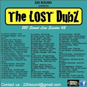 """""""The Lost Dubz"""" 100% Dubplate MixCd By DussOva aka 220 sound"""