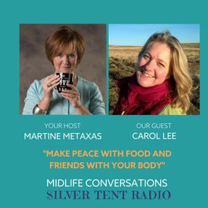 Martine Metaxas interviews Carol Lee on Life Doesn't Need Sugar To Be Sweet