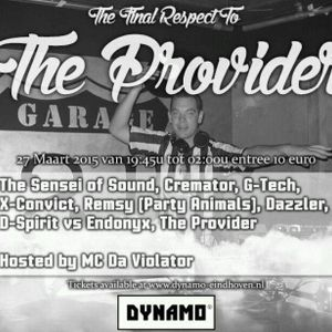 The Sensei Of Sound @ The Final Respect To The Provider (liveset)