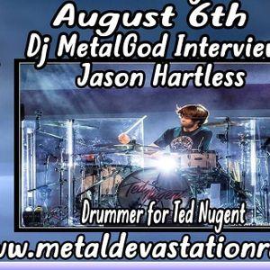 Metalgod Interviews Jason Hartless drummer for Ted Nugent