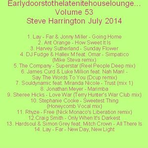 Earlydoorstothelatenitehouselounge... Volume 53 July 2014