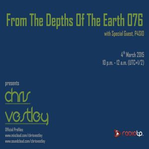 From The Depths Of The Earth 076 (P4SIO Guestmix)