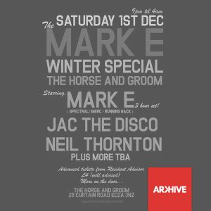 The Mark E Winter Special Resident Promo
