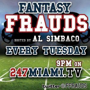 Fantasy Frauds @ffrauds #fantasyfootball Week 8
