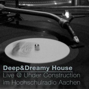 Live @ Under Construction (Hochschulradio Aachen) | Deep, Mellow, Cosmic House