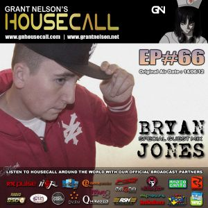 Housecall EP#66 (incl. a guest mix from Bryan Jones)