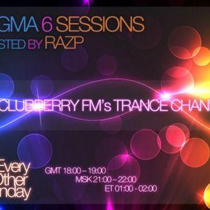 Razp - Sigma 6 Sessions 001 (Clubberry.FM) [22.09.2009]