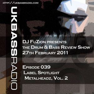 Ep. 039 - Label Spotlight on Metalheadz, Vol. 2