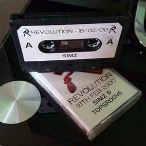 DJ SIMZY!!! REVOLUTION 18TH FEB 2000