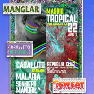 SweatCast#34 - Caballito - Pre Manglar @ Republik 22/08/14