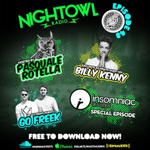 Night Owl Radio 048 ft. Go Freek and Billy Kenny
