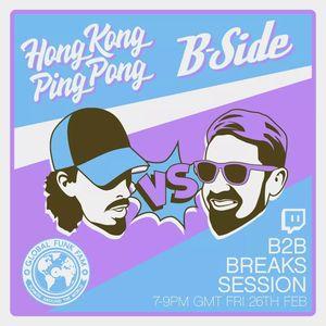 B-Side Breaks Mix 26-02-2021