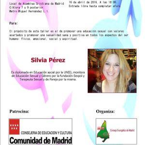 Entrevista Silvia Perez Taller de Educación Sexual para Adolescentes Y Jovenes