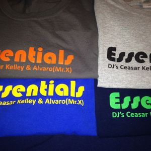 Essentials LIVE Mix Part 2 - Alvaro (Mr.X) & Ceasar Kelley