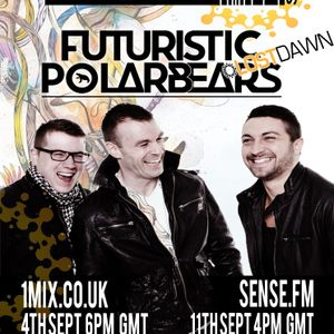 053 The EDM Show with Alan Banks & guests Futuristic Polar Bears