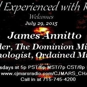 Paranormal Experienced with Kat Hobson 20150729  James Annitto