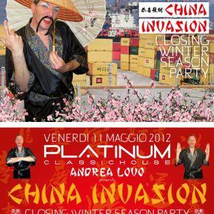 "Luckino b2b Francis Galante 11/05/2012 live @ ""Platinum Classic House"""