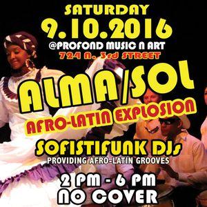 Bailamos! Alma/Sol Pregame Mini Mix