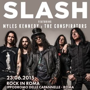 IO C'ERO - Paolo racconta il Concerto di Slash a Rock in Roma