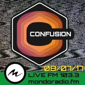 CONFUSION-ROMA ON AIR FM103.3 MONDORADIO - ROMA 08_7_2017