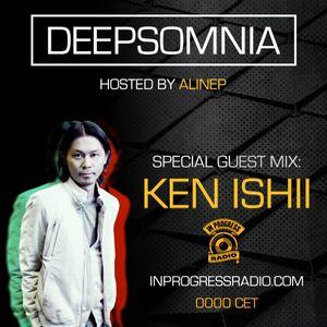 Deepsomnia with Alinep - Special Guest Mix: KEN ISHII - Dec 2016 - www.inprogressradio.com