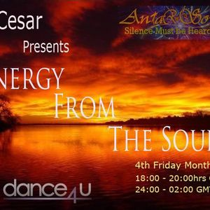 DJ Cesar Presents Energy From The Soul - April 2012