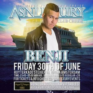 ASIAN SUPPERCLUB Amsterdam Cruise Edition MIX by BENJI