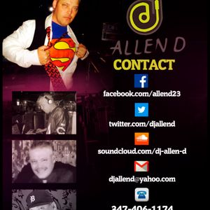 Allen D Top 40 & Latin Mix 010115