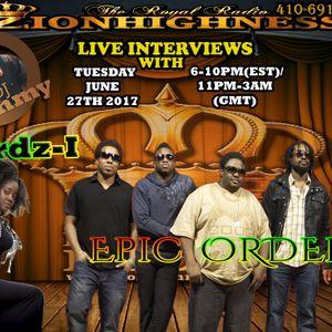 BIRDZ-I LIVE INTERVIEW WITH DJ JAMMY ON ZIONHIGHNESS RADIO 062717