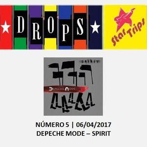 Drops Star Trips - Edição 5 - Depeche Mode - Spirit
