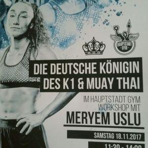 """""""Ich denke immer schon einen Kampf weiter."""" Ein Interview mit Meryem Uslu"""